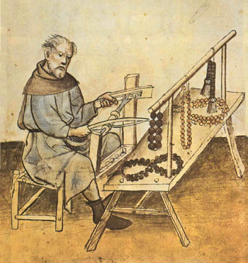 Paternostermaker, from the Stadtbibliothek in Nurnberg